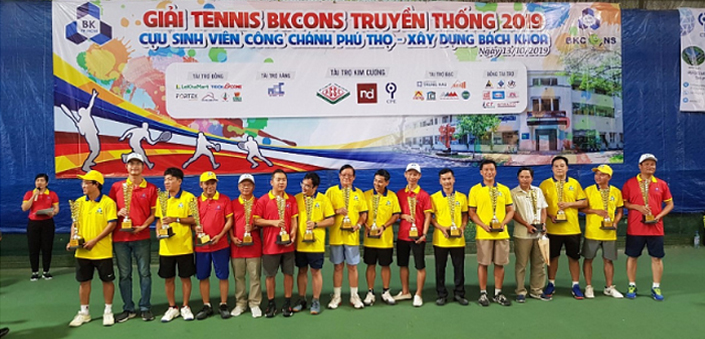 AN PHU GIA CONS WIN THE TENNIS TRADITIONAL TENNIS AWARDS BKCONS 2019